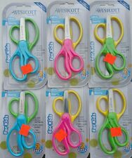"""12 Blunt Tip Kids Scissors 