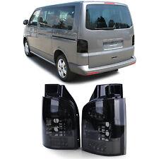 Verre Transparent LED Feux Arrières Noir Fumee pour VW Bus T5 Avec Hayon 03-09