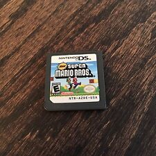 New Super Mario Bros Nintendo DS Game Cart Only  Works