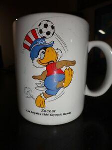 1984 Olympics Soccer Mug