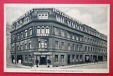 AK BERLIN 1931 Hotel Hermes Schiffbauerdamm 4      ( 27884