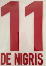 name set rayados monterrey outlet, 11 DE NIGRIS,