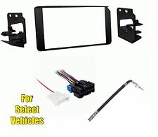 Double Din Radio Kit Combo for select 1995-1999 Chevrolet Tahoe Suburban w/Amp