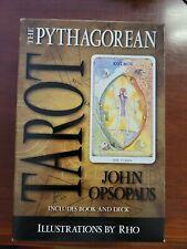 The Pythagorean Tarot Deck And Book John Opsopaus New In Box