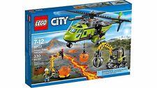 Lego 60123 - Volcán: Helicóptero de suministros - NUEVO