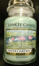 Yankee Candle   Water Garden  22 oz  1 Single NEW   Free  Priority Shipping