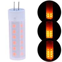 Fire Effect G4 LED Burning Light Flicker Corn Flame Lamp Bulb Retro Decorative