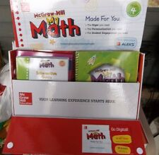 McGraw Hill Updated My Math Sample Packages for Kindergarten - 5th Grade NIB!!
