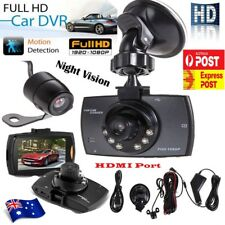 Dual Dash Camera Recorder HD Cam Reversing Car Crash DVR Video 1080P AU STOCK