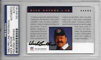 DICK BUTKUS Signed 1992 PRO LINE PORTRAITS Football CARD Chicago BEARS NFL PSA
