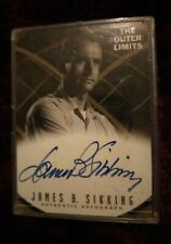 More details for outer limits  - trading card - signed by james b silking - rittenhouse a5