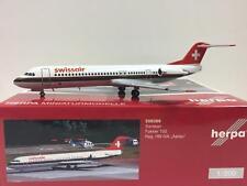 """Swissair Fokker-100 (HB-IVA) """"Aarau, 1:200 Herpa 559386"""