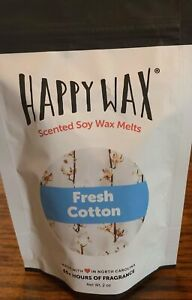 Happy Wax Fresh Cotton 2oz. bag Soy Wax Melts ******RESEALABLE******