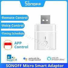Sonoff Micro USB Wifi Adapter 5V Smart Switch Over Charge Timer Wireless Control