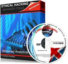 More details for ethical hacking tools  advanced analytical tools double dvd set free uk postage