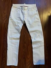 Dsquared2 White Button Fly Pants Jeans Made in Italy Neil Barrett