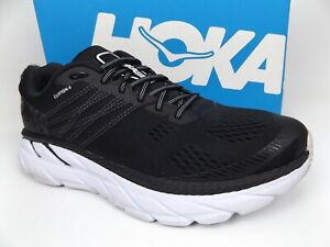 HOKA ONE ONE Clifton 6 Women's SZ 8.0 M,  Black Performance Running Shoes  18544