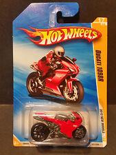 2010 Hot Wheels #17 New Models 17/44 - Ducati 1098R - R0933