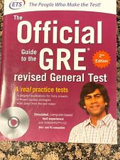 The Official Guide to the GRE Revised General Test, 2nd Edition Disc Included