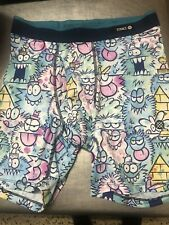 Stance The Boxer Brief.Size Small Poly Blend.NWOT.CRAZY CARTOON