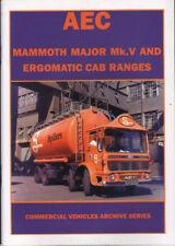 Book:  AEC MAMMOTH MAJOR Mk.V AND ERGOMATIC CAB RANGES