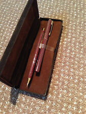 AZZARO PENCIL AND FOUNTAIN PEN SET VINTAGE  70'S IN CLOSE TO MINT