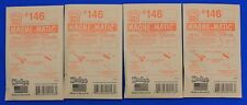 Lot of 4 Packs - HO Scale KADEE # 146 MAGNE-MATIC Metal Couplers 2 Pair per pack