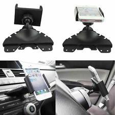 KQ_ 360° Universal Car CD Player Slot Mount Cradle Holder For Mobile Phone GPS