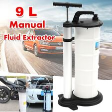 9L Vacuum Oil Fluid Extractor Transfer Pump Car Fuel Petrol Coolant Manual USA