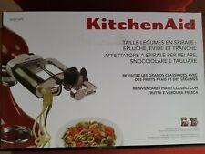 Kitchen Aid Spiralschneider und Funktion zum Schälen Entkernen und Schneiden
