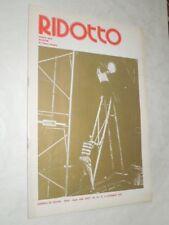 TEATRO-RIVISTA RIDOTTO TESTI:BURLESK DI FRANCO SCAGLIA-N.12 DI DICEMBRE 1978
