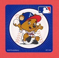 10 Atlanta Braves Mascot - Large Stickers - Major League Baseball