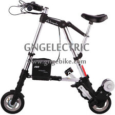 "8"" 24v250w Electric A Bike mini folding bicycle Foldable E bike(with battery)"