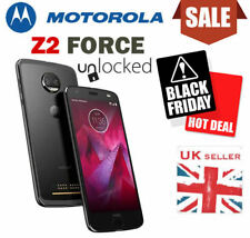 Motorola Moto Z2 Force Black Mobile Phone Unlocked Smartphone Z Play UK Seller