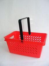 15x roter Einkaufskorb Korb Einkaufskörbe Körbe Ladeneinrichtung Kiste Neu TOP
