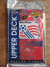 1994 Upper Deck World Cup soccer USA 94 Pack of 20 Cards Unopened Contenders Set