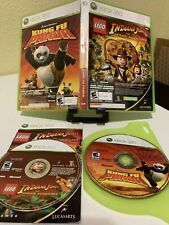 LEGO Indiana Jones and Kung Fu Panda Dual Pack (Microsoft Xbox 360) Complete CIB