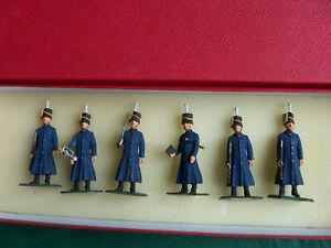 6x 54mm 1/32 metal 3rd Hussars In Cloaks 1900
