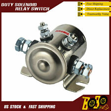 Continuous Duty Solenoid Relay Switch 200Amp Winch Golf Cart 12V Heavy Duty