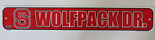 North Carolina State University Wolfpacks Ncaa Street Sign Dorm Wall Decor