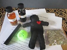 Voodoo Doll Spell Kit ~ Witchcraft Poppet ~ Banishing Spell Kit ~Witchcraft Doll