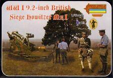 """Strelets 1/72 WWI 9.2"""" British Siege Howitzer # A012"""