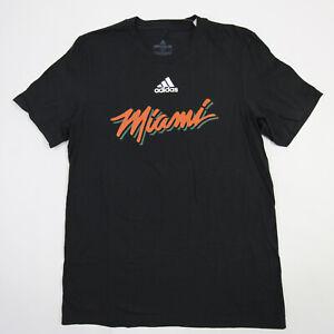 Miami Hurricanes adidas Short Sleeve Shirt Men's Black New with Tags