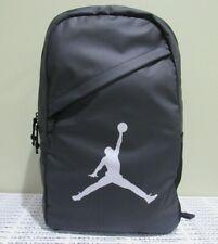 Nike Jordan Jumpman Backpack Black Hiking Gym School Book Bag Duffle 9A1910-023