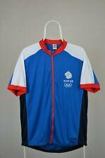Mens Team GB London 2012 Olympics Cycling  Jersey Size XL