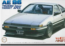 Toyota AE86 Trueno Early Type 83 - Fujimi Model Kit 1/24