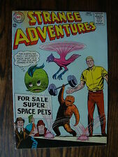 Strange Adventures #166 G+ For Sale Super Space Pets