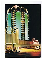 Sands Hotel Casino Post Card Tower Entrance Night View Las Vegas Nevada 651074