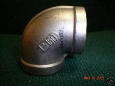 """1"""" NPT 150# T-304 STAINLESS STEEL ELBOW 90 DEGREE"""