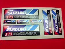 7 Adesivi YOSHIMURA Suzuki Team resistente al calore